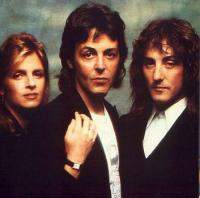 Denny Laine with Paul McCartney and friends