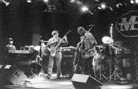 Tony MacAlpine and Bunny Brunel and Dennis Chambers