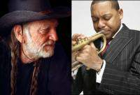 Willie Nelson and Wynton Marsalis